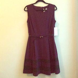 NWT Calvin Klein Fit & Flare Dress